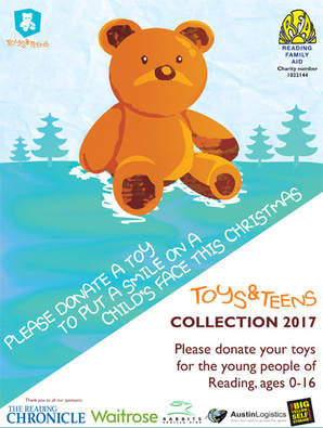 RFA 2017 Toys & Teens Appeal poster